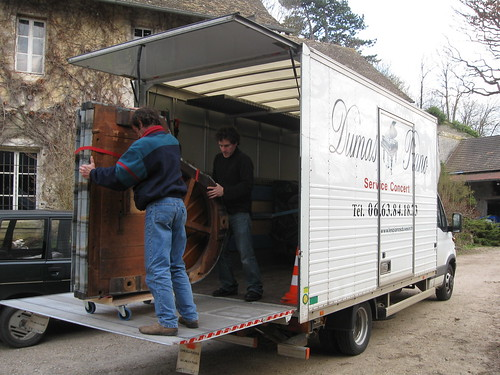 Realizacja transportu pianina