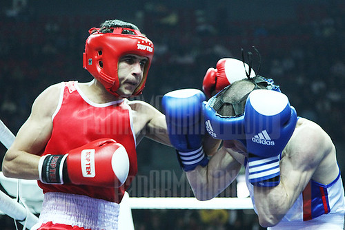 Participants of International Boxing Tournament in Armenia
