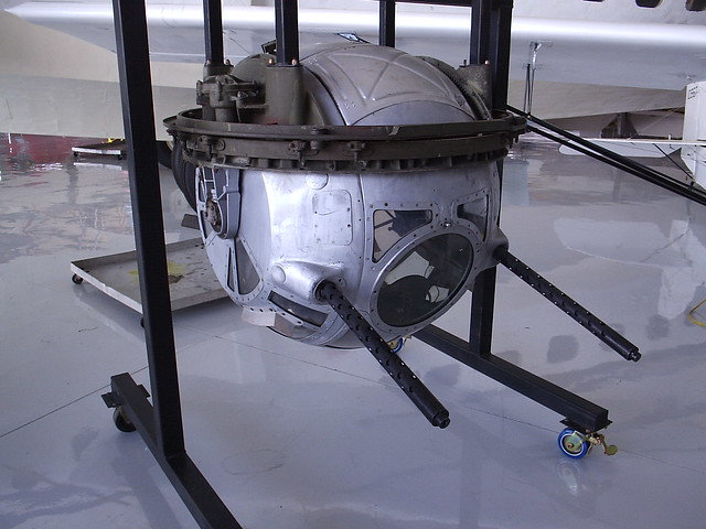 B 24 Ball Turret 022 Sperry Ball Turret...