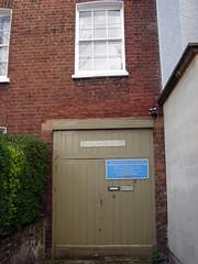 Photo of Charles Rennie Mackintosh and Margaret Macdonald blue plaque