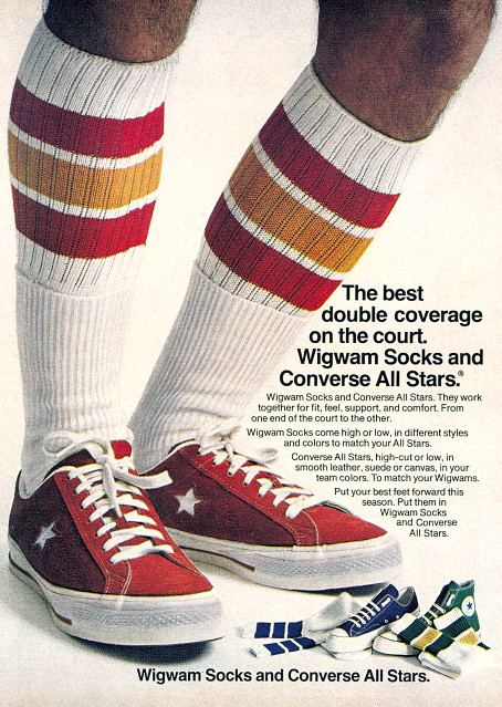 Sneakers & Socks 1970's