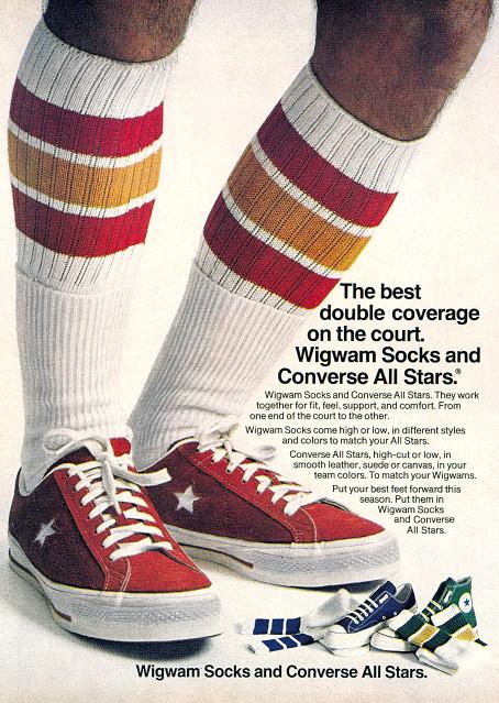 Sneakers & Socks 1970's