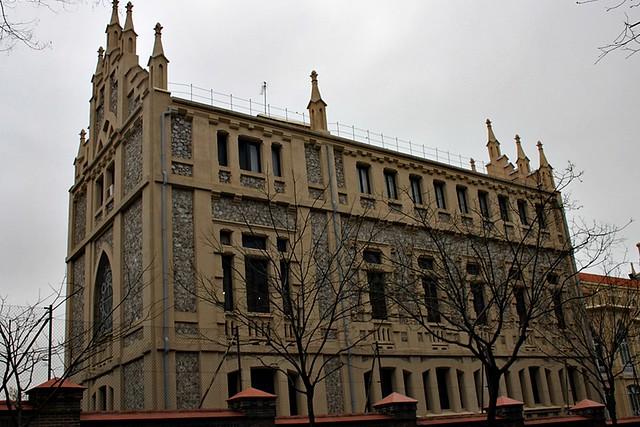 Colegio el pilar calle castell madrid flickr photo - Calle castello madrid ...