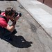 Taking photos of the No Trespassing Banksy on Sycamore at Mission in San Francisco 53 by Steve Rhodes