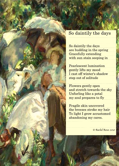 So daintily the days (poem)