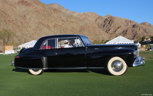 1948 Lincoln Continental - black - svr