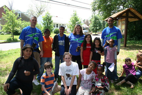 Wachovia Volunteers at Elise Stokes Public Charter School