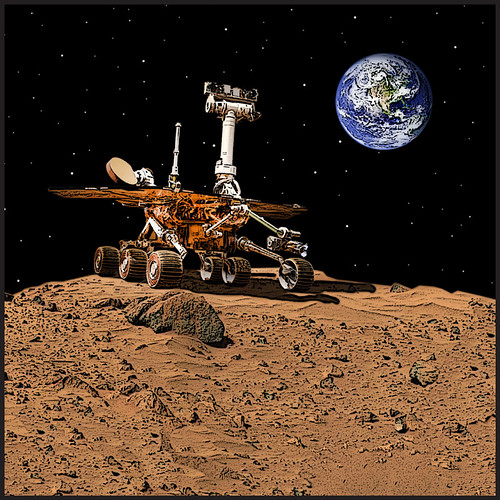 Mars Rovers by Idaho National Laboratory