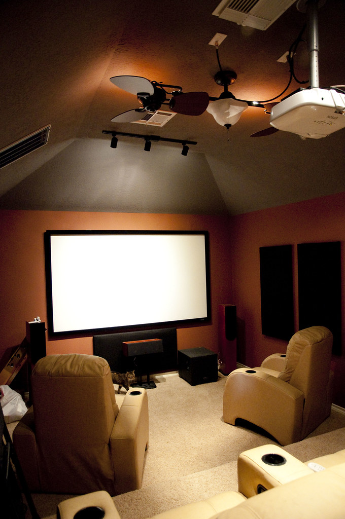 Home Theater/New Lighting