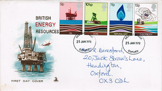 25-Jan-1978 UK First Day Cover