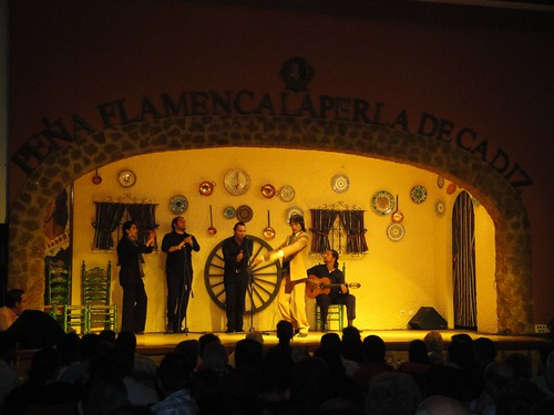 Flamenco in Cadiz, Spain