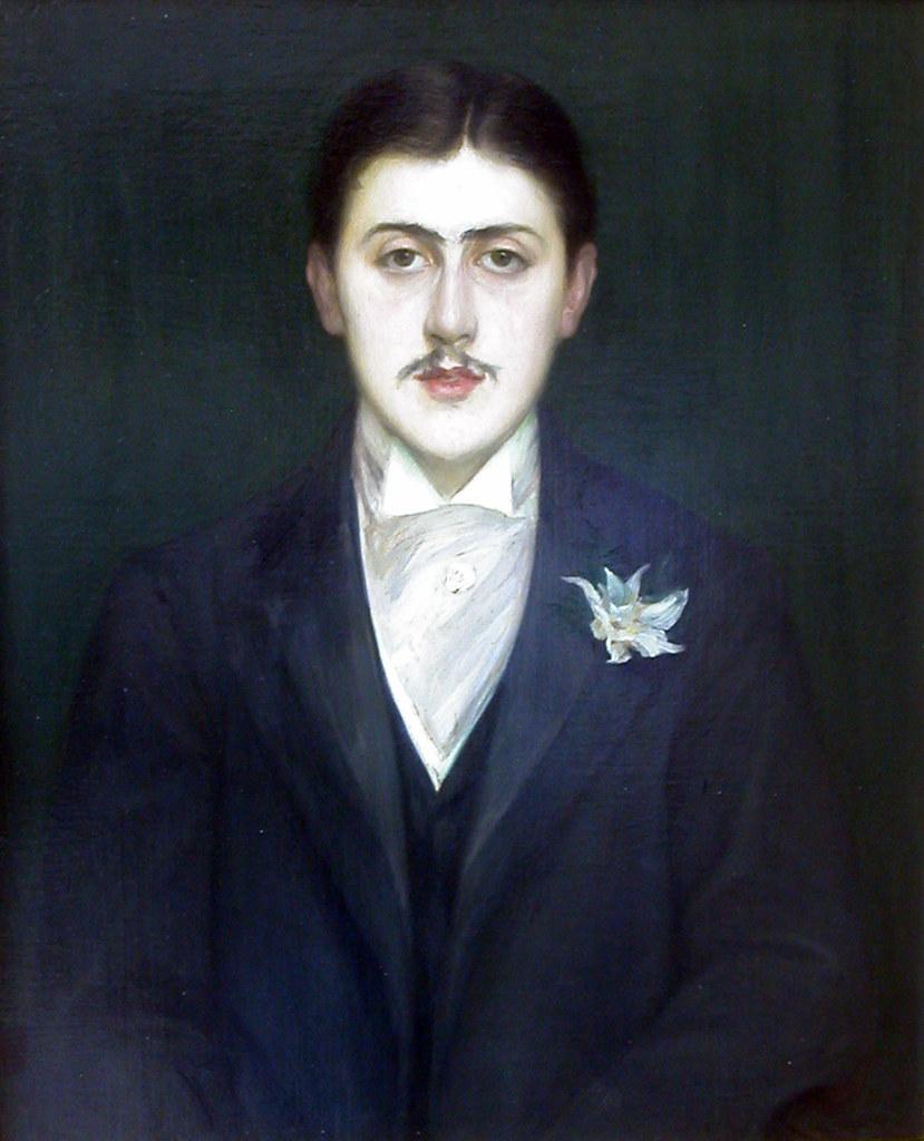 Paris - Musée d'Orsay - Jacques-Emile Blanche - Portrait of Marcel Proust