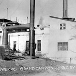 11989 Grand Canyon Historic_ Santa Fe Railroad Powerhouse c. 1915