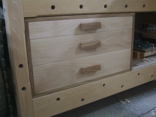 Drawers for a workbench olly writes