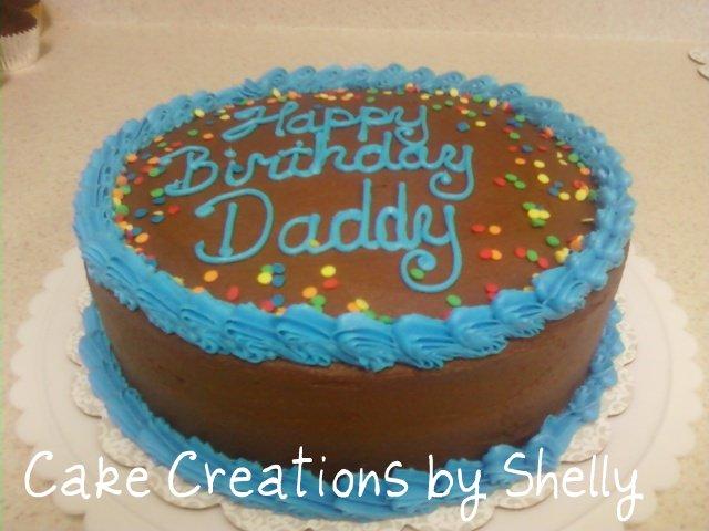 Round Birthday Cake Images : 8