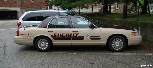 Franklin County, Indiana Sheriff Car