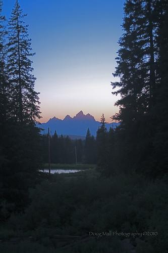 park lake mountains sunrise landscape national wyoming teton jennylake tetonnationalpark nikond5000