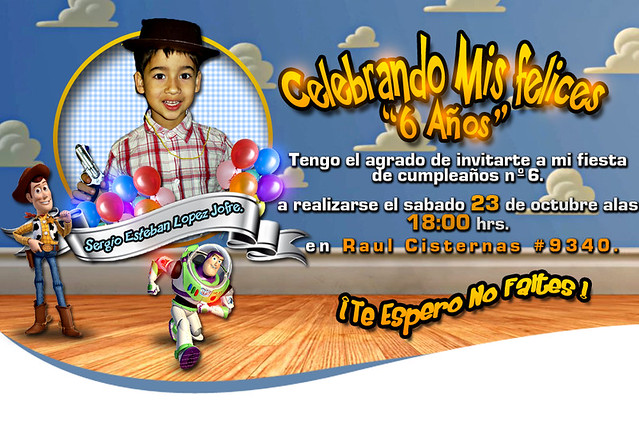TARJETA DE INVITACION(CUMPLEAÑOS) | Flickr - Photo Sharing!
