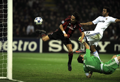 Group G:AC Milan 2-2 Real Madrid CF