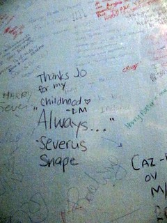 Harry Potter Bathroom Graffiti is the Nicest Graffiti
