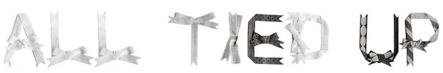 Title for Ribbon Typeface