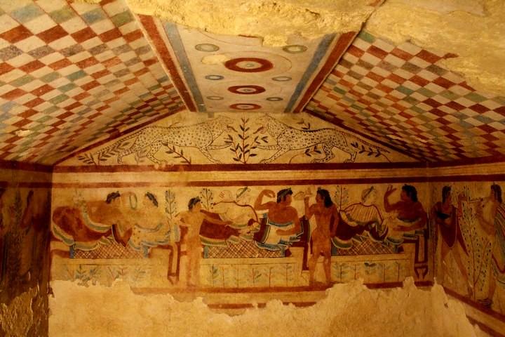 Necrópolis etrusca de Tarquinia