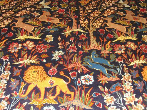 Isfahan Animals Persian Rug Flickr Photo Sharing