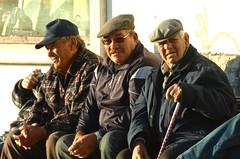 Retired fishermen