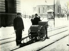 Skinnesliping ved Skansen (1918)