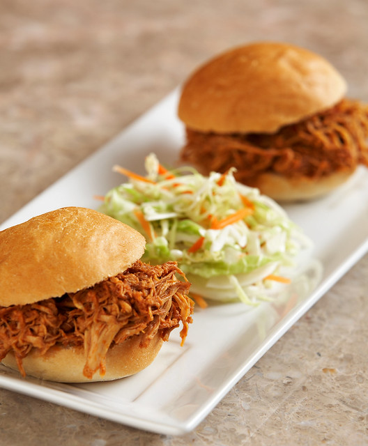 Shredded Slow Cooker Chicken with BBQ Sauce 3of4 | Flickr - Photo ...