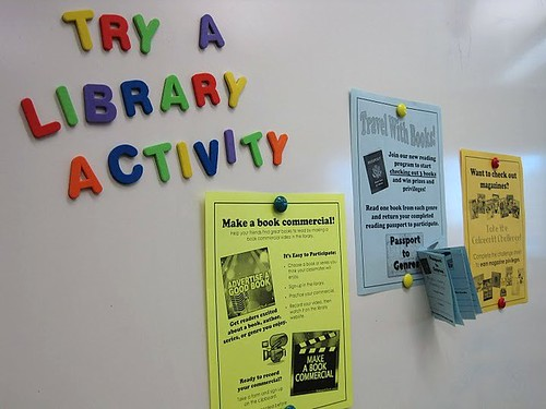 Library activity, 352 365 Try one