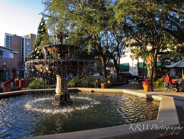 Fountain Hyde Park Village Tampa Flickr Photo Sharing