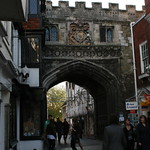Ornate arch  - Salisbury, Wiltshire, South West England
