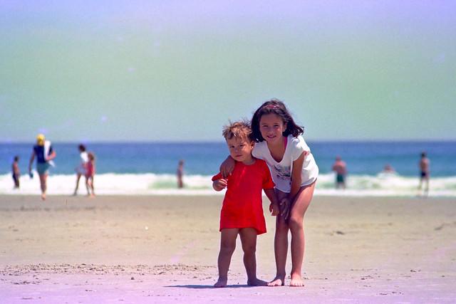 Annick & Philippe à la plage