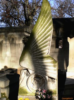 ART DECO, Montmartre cemetery, Paris, France