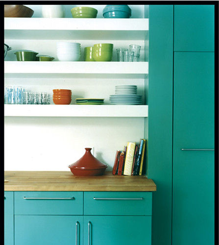 Teal Kitchen Flickr Photo Sharing