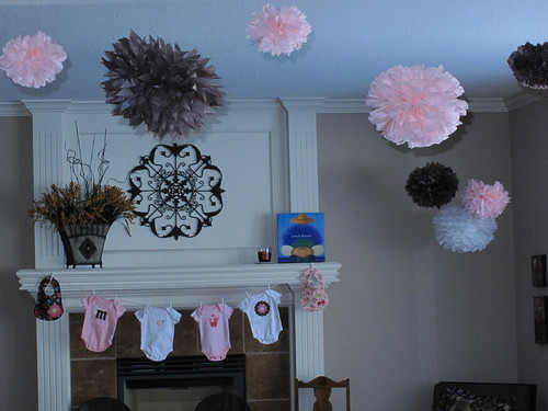Homemade baby room decorations photograph the sweet life for Baby shower decoration ideas homemade
