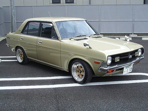 Datsun F10 For Sale >> Nissan cherry turbo 0-60