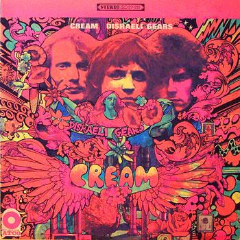 Cream Rare Vintage Psychedelic Stereo Lp Vinyl Record