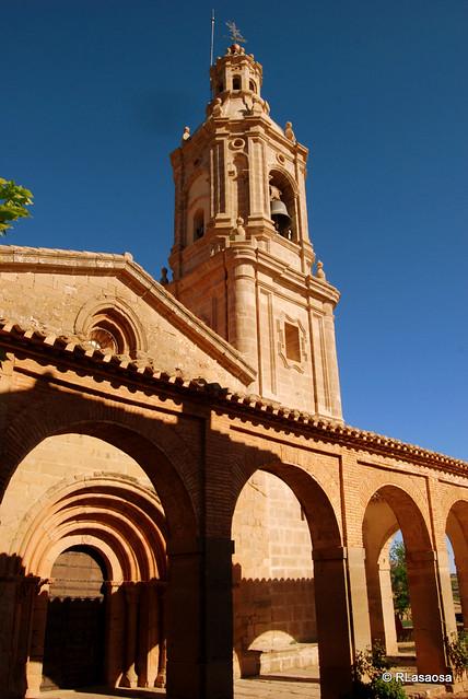 Iglesia de San Andrés, Villamayor de Monjardín, Navarra, Camino de Santiago