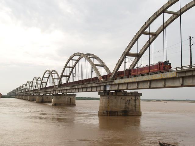 rajahmundry godavari bridge flickr photo sharing