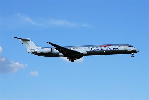 Albanian Airlines MD-82; ZA-ASA@ZRH;09.08.2008/525cb