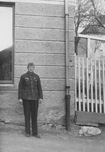 Tysk soldat eller frigitt fange? (1945)