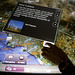 Museum visitors explore the LA Basin with a multitouch multiuser mapping mashup