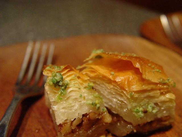 Baklava comida grega nos EUA