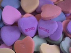 confectionery, purple, sweethearts, food, pink,