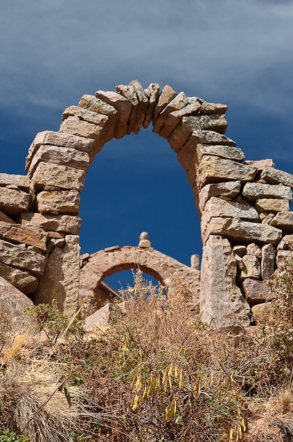 Taquile's arches