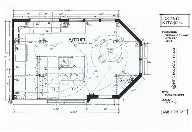Foster Kitchen Design Mechanical Plan Flickr Photo Sharing