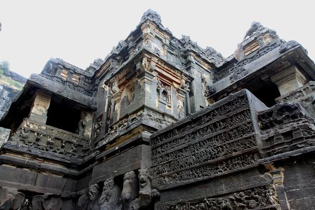 kailash temple ellora caves aurangabad