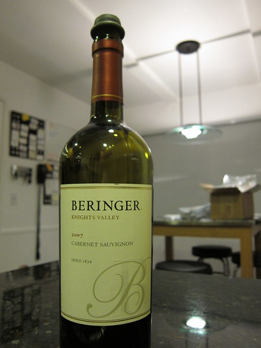 Beringer, Knights Valley, 2007, Cabernet, S… IMG_0018
